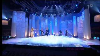 Pernilla Wahlgren & Jan Johansen - Let Your Spirit Fly (Melodifestivalen 2003) HQ