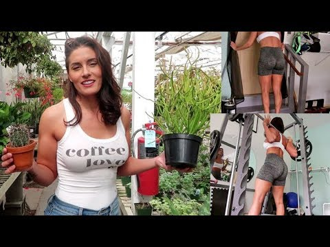 plant-shopping,-potting-and-legday-with-sets-and-weights