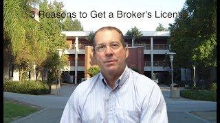 Ed Estes - Why Get a Broker's License?