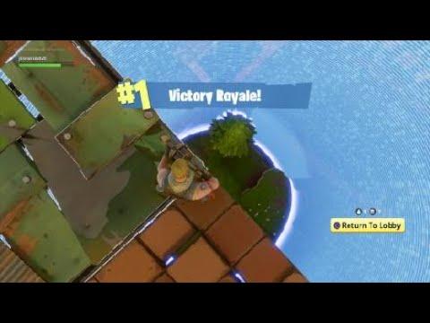Grenade launcher trick shots (Fortnite battle royal)