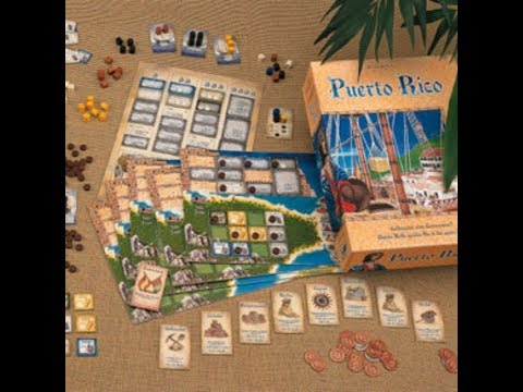 """Puerto Rico"" Board Game Tanıtım"