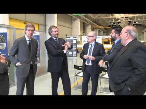 ENEA Channel - Riprese ENEA ASG pronto componente JT60SA per fusione