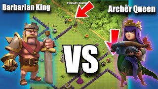 BARBARIAN KING VS ARCHER QUEEN! WHO IS THE BEST? | Clash of Clans💥