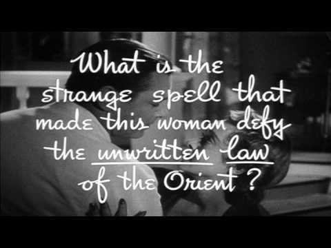 The Letter 1940 Trailer