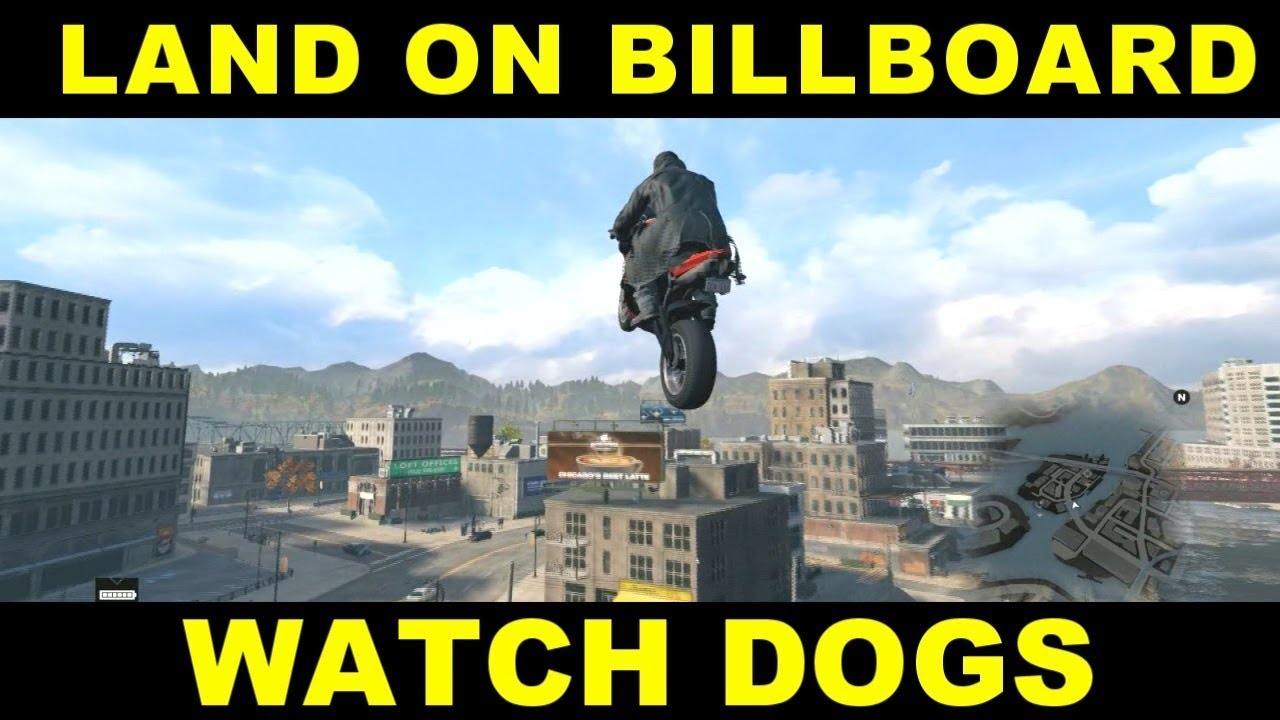 Watch Dogs  T On A Billboard
