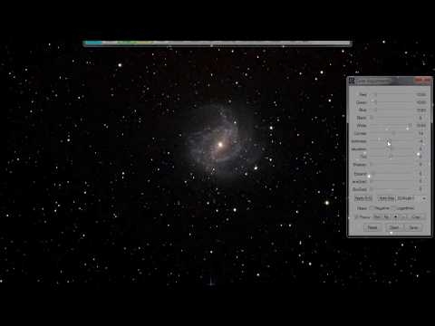 M104 Sombrero Galaxy Then M83 Southern Pinwheel Galaxy Live EAA Single 60 Second Frame