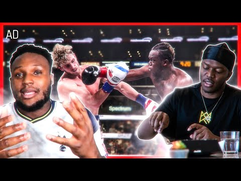 KSI Speaks About The Mental Toughness It Takes To Be A Fighter & Be In His Position. - VIDDAL