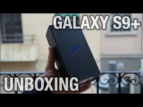 Samsung Galaxy S9+ Unboxing: Let's get started (Video) | Pocketnow