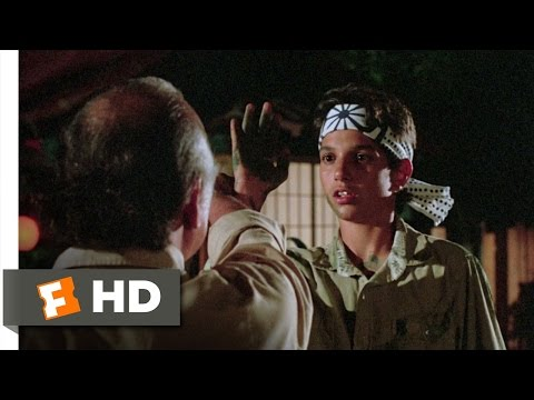 The Lessons Come Together The Karate Kid (5/8) Movie CLIP (1984) HD