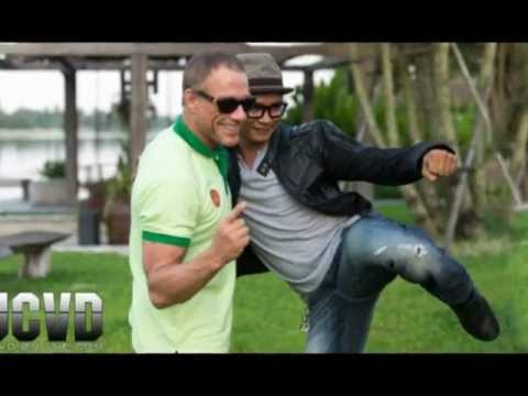 jeanclaude van damme and tony jaa  pictures video  2012