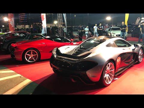 يوم خرافي لعشاق السيارات Gulf Car Festival Dubai 2018