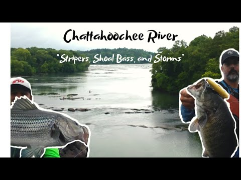 Stripers, Shoal Bass, And Storms. Fishing The Middle Chattahoochee River