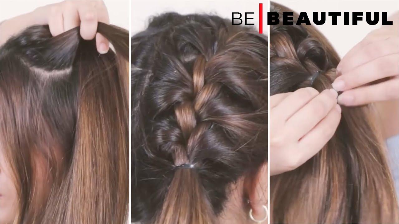 Side French Braid #braids #frenchbraid #sidefrenchbraid #hairstylesforgirls #hair #hairstyle #trend