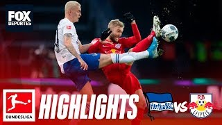Hertha Berlin 2-4 RB Leipzig | HIGHLIGHTS | Jornada 11 | Bundesliga