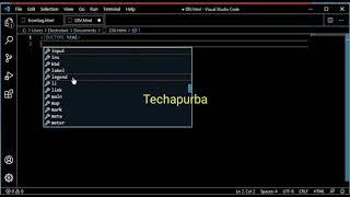 CODING DIV & SPAN TAG IN HTML ! TECHPURBA