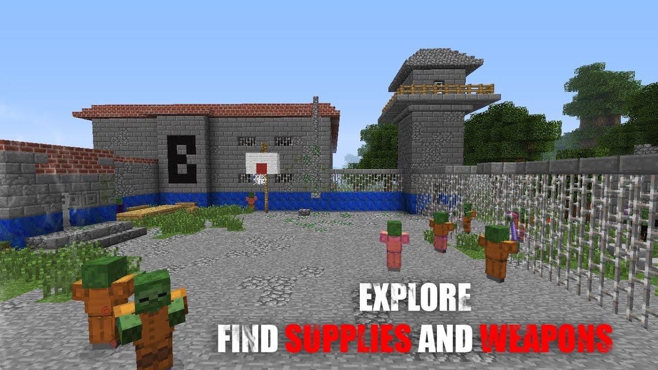 Скачать карту Тюрьма - Все для Майнкрафт