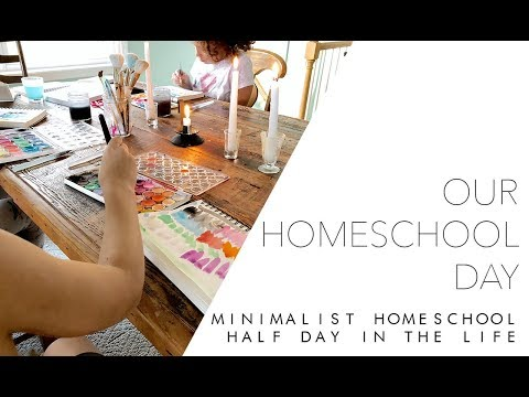 Salty Tribe Homeschool [Half] Day in the Life