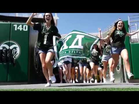 Kappa Delta at Colorado State University Recruitment Video 2017