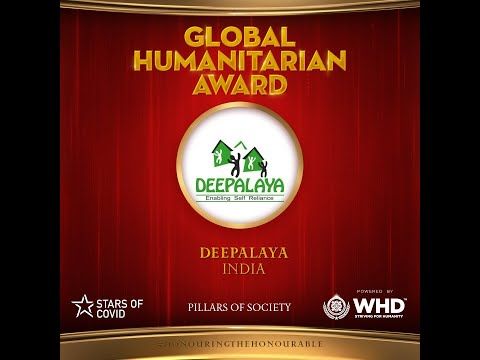 Global Humanitarian Award by World Humanitarian Drive - Star