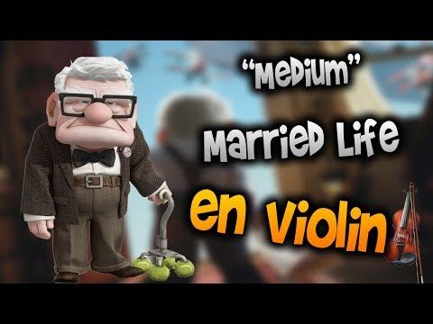 Up Soundtrack - Married Life en Violín|tab,tutorial,partitura,como tocar|HD Tutorial