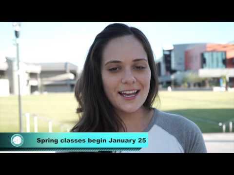 Enroll now - Classes for Spring 2016 begin Jan. 25