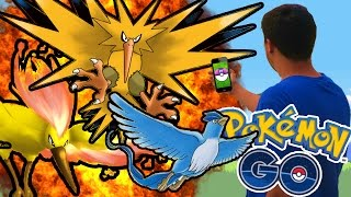 Pokemon GO | HOW TO CATCH LEGENDARY POKEMON...!!!