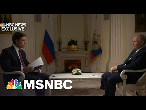 He Was 'Urging Me To Believe Him': Keir Simmons Discusses Putin Interview