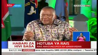 President Uhuru: China is not out to recolonise Africa, in fact they have never colonised Africa