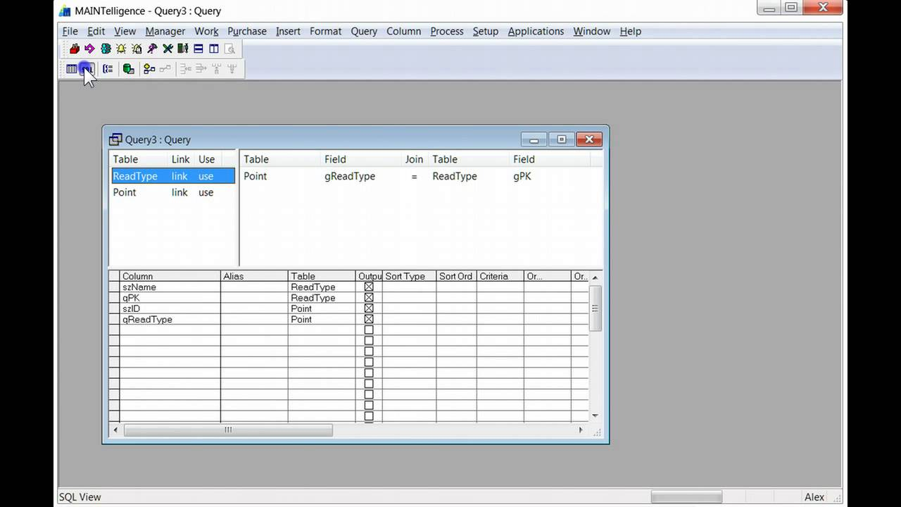 Sql query from two tables j ole how to make a sql query joining two tables in maintelligence baditri Image collections