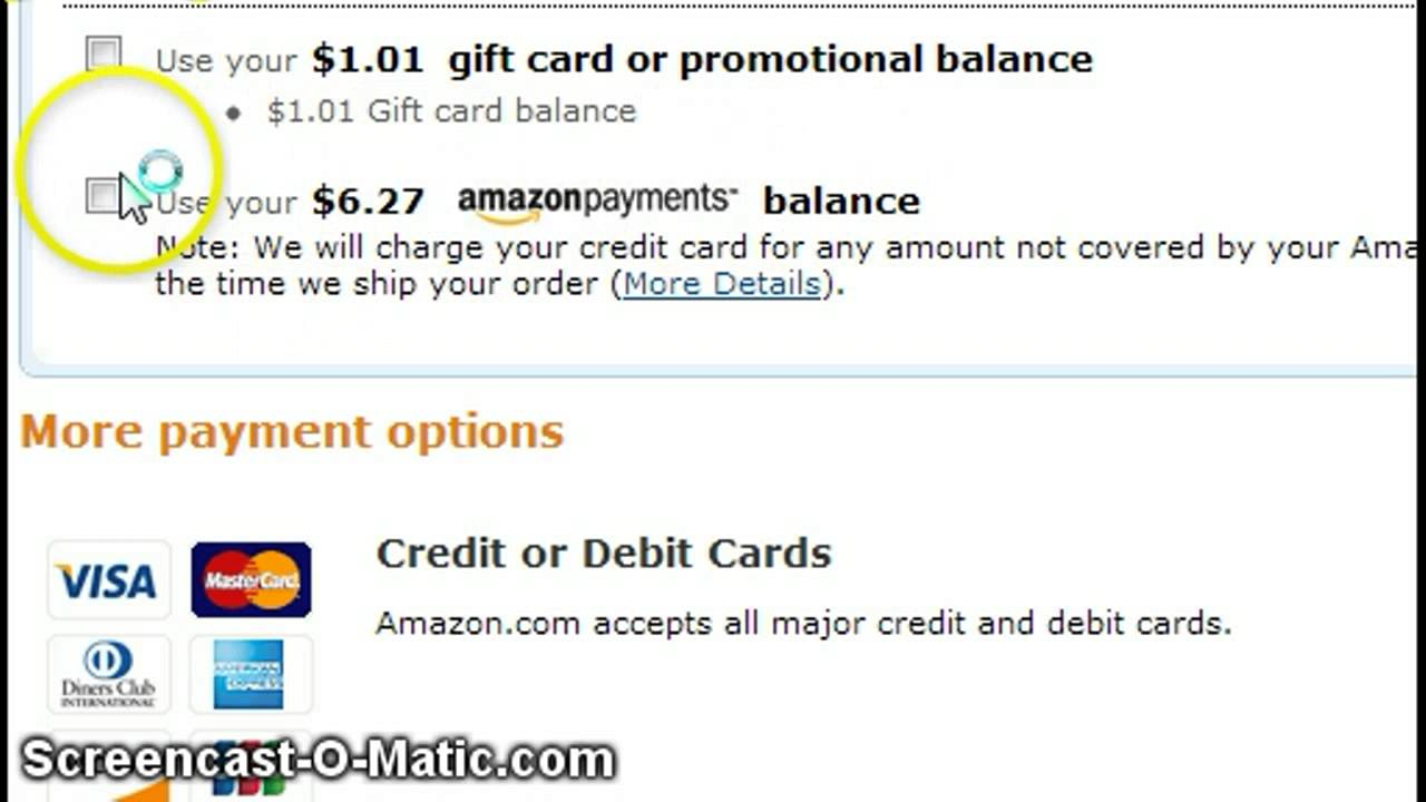 How Can You Pay Your Amazon Card Account Bill?