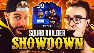 One of Nick28T's most viewed videos: 99 TOTY MESSI SQUAD BUILDER SHOWDOWN vs AJ3!!! FIFA 16 Ultimate Team - 99 rated MESSI