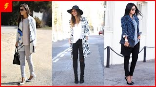 Fashionable Outfits with Printed Trench Coat