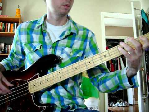 Billy Talent- Fallen Leaves- Bass cover