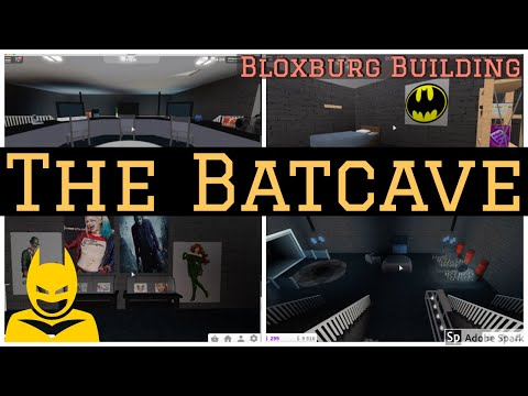 How to Build a Batcave in Bloxburg