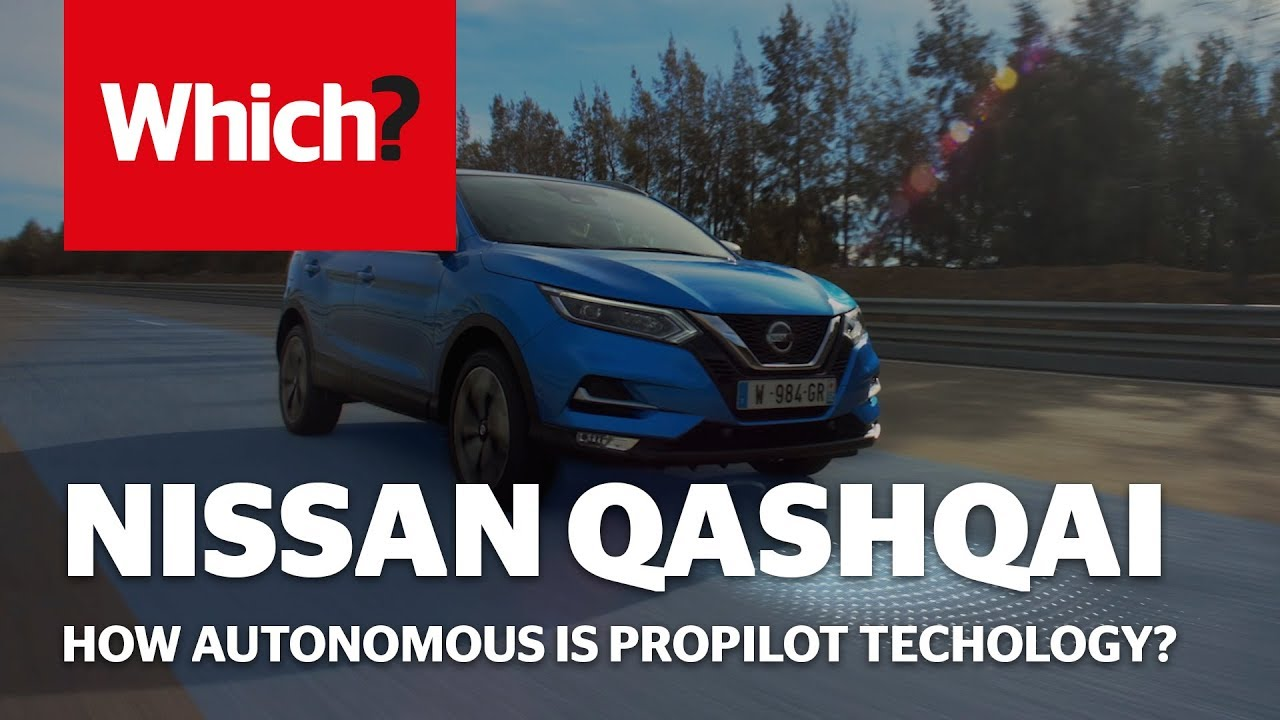 nissan qashqai propilot 2018 - which? first drive review - youtube