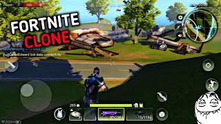 New Fortnite 🔥 clone for Android | Better than fortcraft ✌️ | Download Project Battle 💀