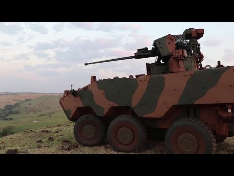 Brazil Army - VBTP-MR Guarani 6X6 Infantry Fighting Vehicle Field Training [1080p]