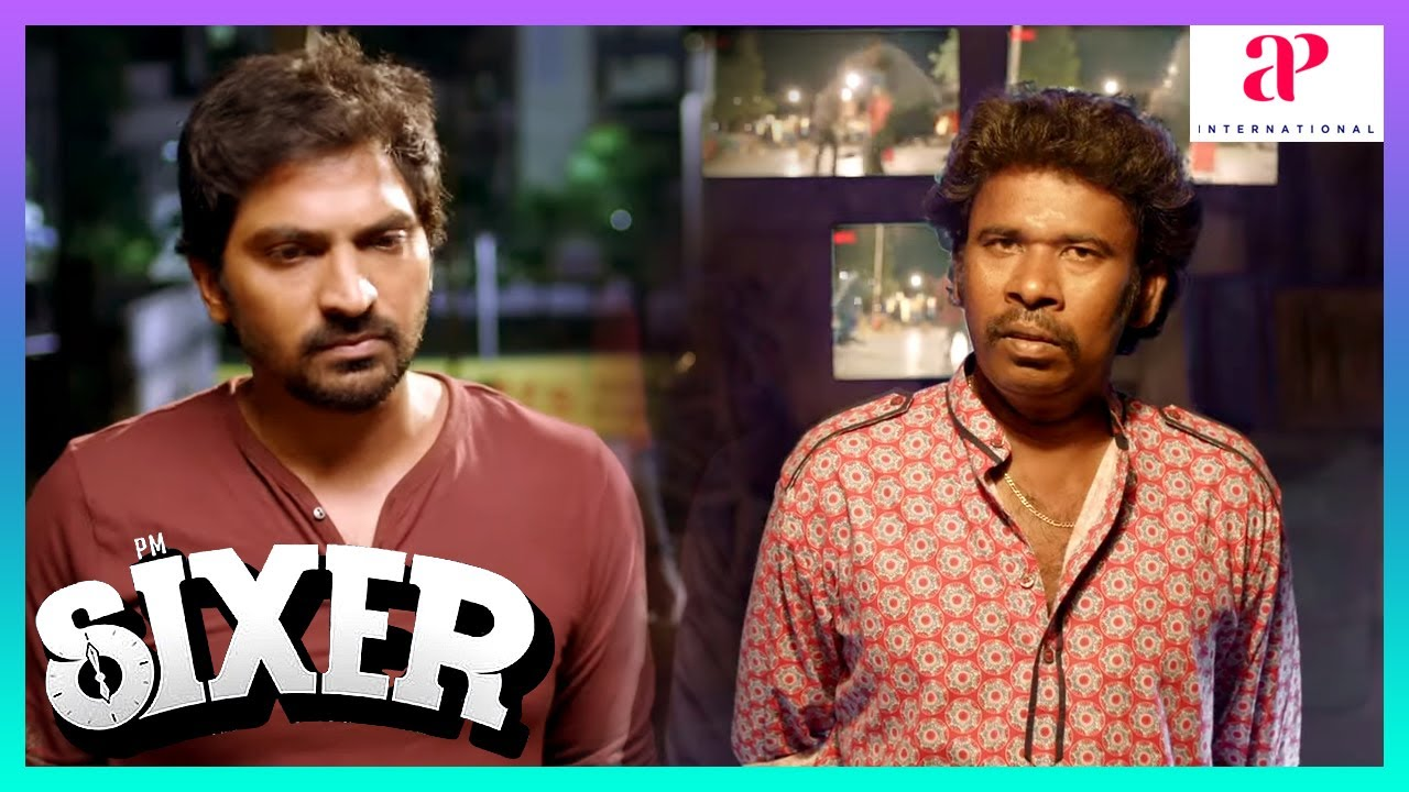 Sixer Latest Tamil Movie Scenes | Vaibhav gets mistaken again! | Pallak Lalwani | Ghibran | Chachi