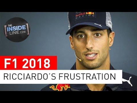 DANIEL RICCIARDO: PURE FRUSTRATION