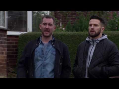 Ross and Pete Question Finn Over His Strange Behaviour - Emmerdale