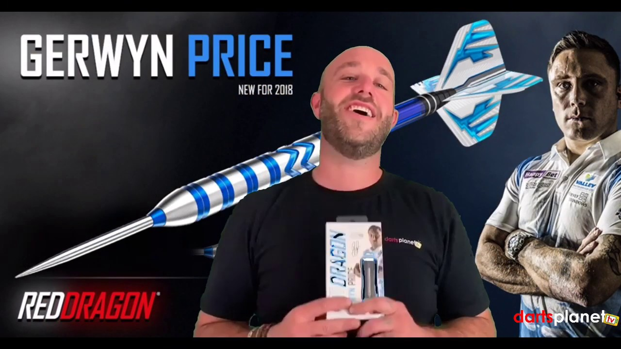 Red Dragon Dart Flights 1 Satz #RD004 Gerwyn Price Iceman Snowflake Grey