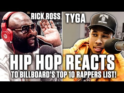 Hip Hop Reacts To Billboard's Top 10 Rappers List