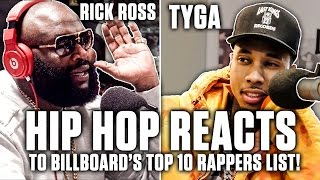 Hip Hop Reacts To Billboard