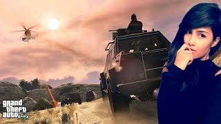GTA V ONLINE (PS4)   TROLLING INTO TROUBLE!  Stay Up With Me x3