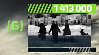 Сколько ленинградцев погибло от голода во время блокады?