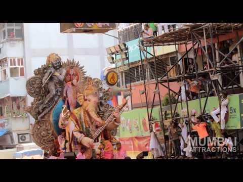 Mumbai Ganesh Chaturthi 2015 : Visarjan at...
