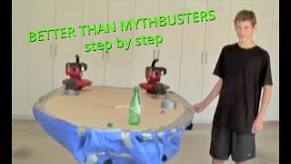 How to Build a WORKING Hover Craft Step By Step Construction