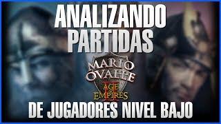ANALIZANDO PARTIDA DE JUGADORES NUEVOS EN AGE OF EMPIRES 2