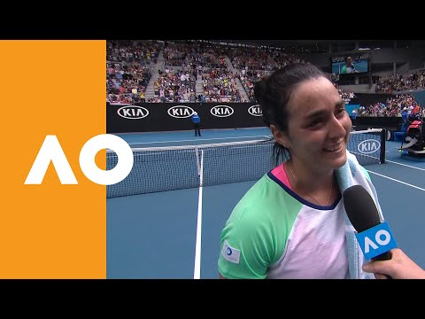 Ons Jabeur on-court interview (3R) | Australian Open 2020