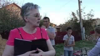 Встреча кандидатов с жителями улицы Вишнёвая